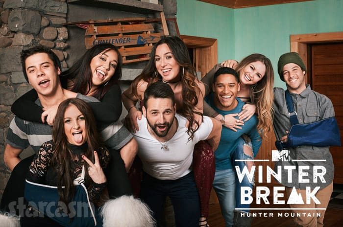 MTV Winter Break Hunter Mountain Cast Photo