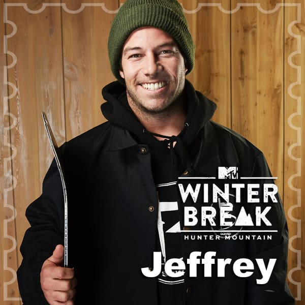 MTV Winter Break Hunter Mountain Jeffrey Brewer