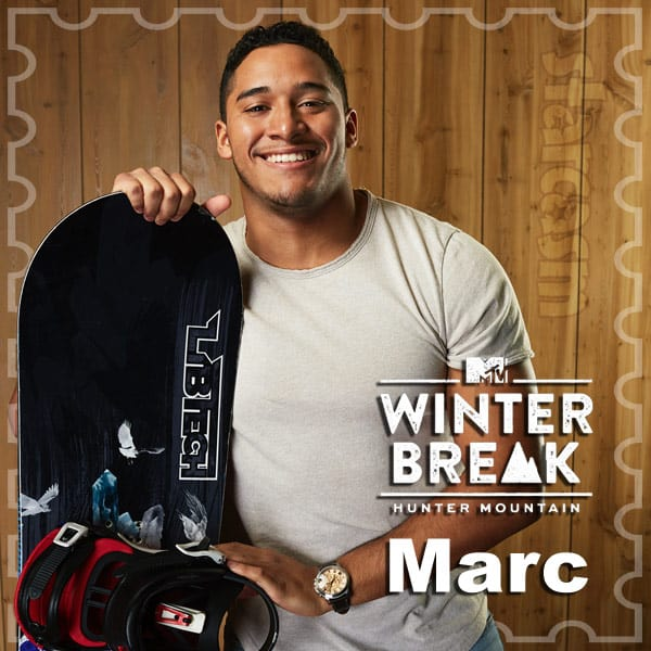 MTV Winter Break Hunter Mountain Marc Vindas