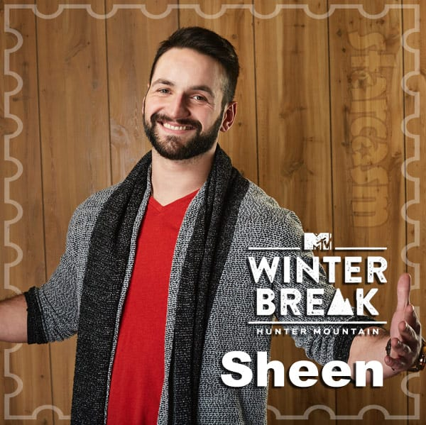 MTV Winter Break Hunter Mountain Alex Shinder Sheen