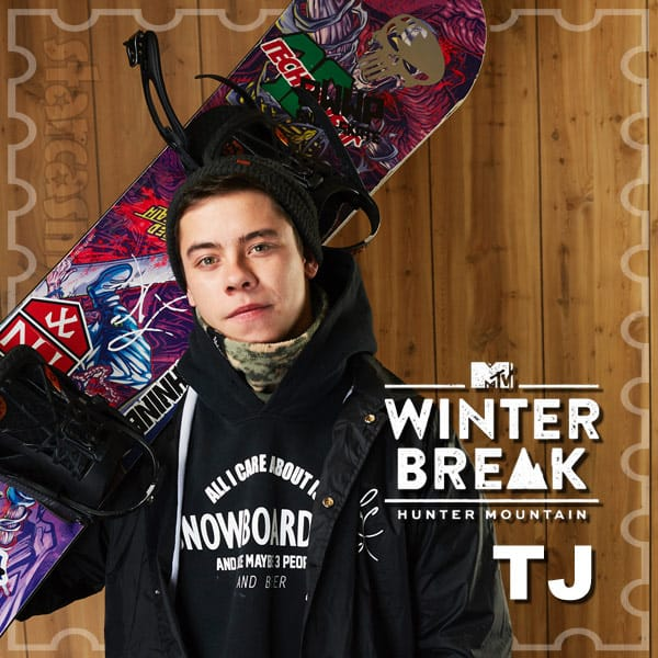 MTV Winter Break Hunter Mountain TJ Angus
