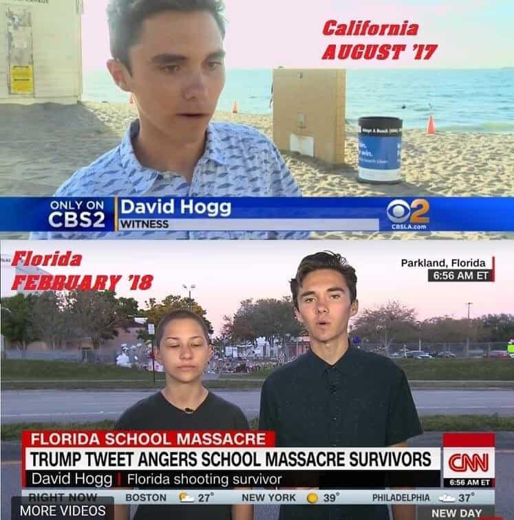 School Shooting Survivor David Hogg Defends Himself From