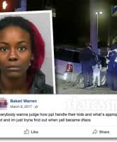 Georgia mom Bakari Warren crashes car with kids inside to prove to her children that God is real