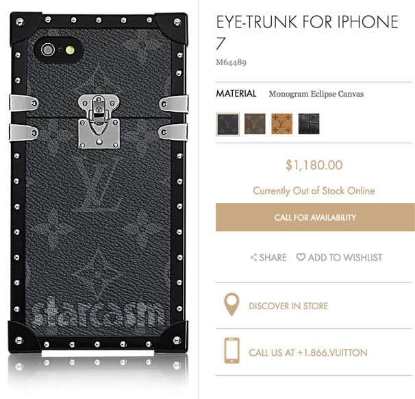 Farrah Abraham Luis Vuitton iphone case