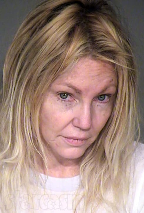 Heather Locklear arrested 2018