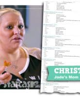 Teen Mom Young and Pregnant Jade Cline's mom Christy