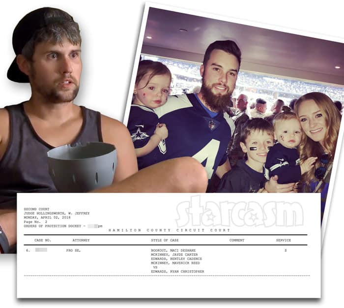Maci McKinney files for protective order against ex Ryan Edwards after heroin arrest
