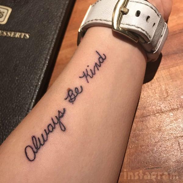 Mackenzie McKee Tattoo