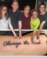 Mackenzie McKee sister tattoos for mom Angie Douthit
