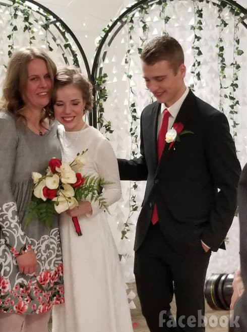 My 5 Wives Brady and Nonie's son Paul wedding photo