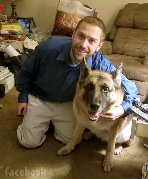 Paul Staehle dog Sassy