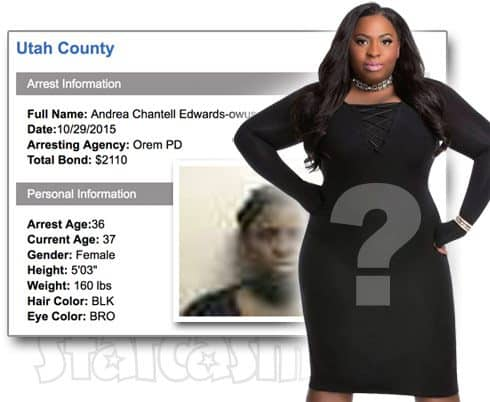 Was Love After Lockup star Andrea arrested in 2015?