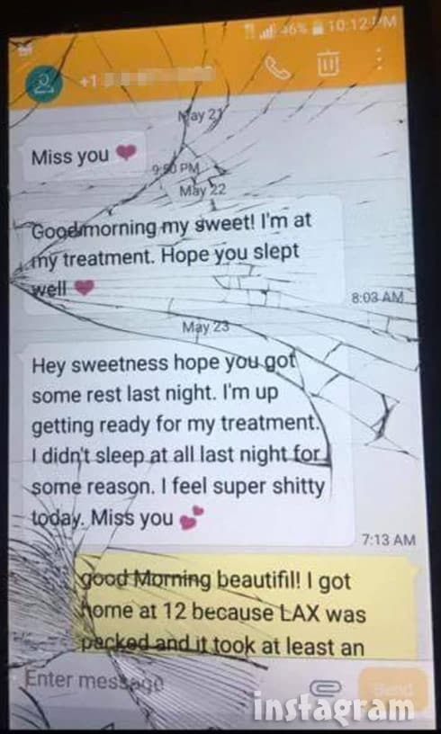Anfisa Jorge cheating Stevie Ryan texts