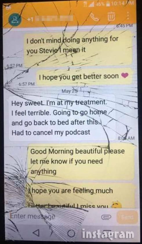 Anfisa Jorge cheating Stevie Ryan texts 5