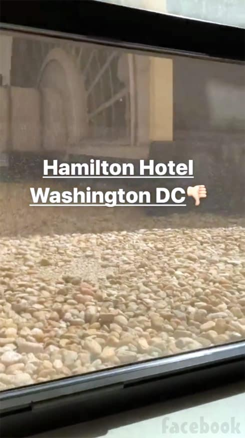 Anfisa Nava Hamilton Hotel Washington DC review