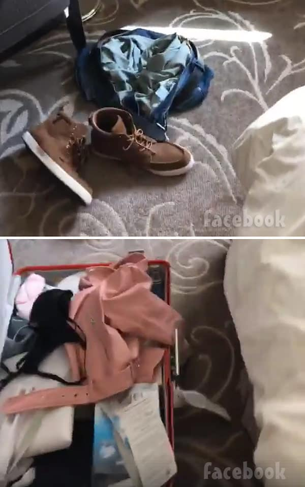 Anfisa Nava suitcase