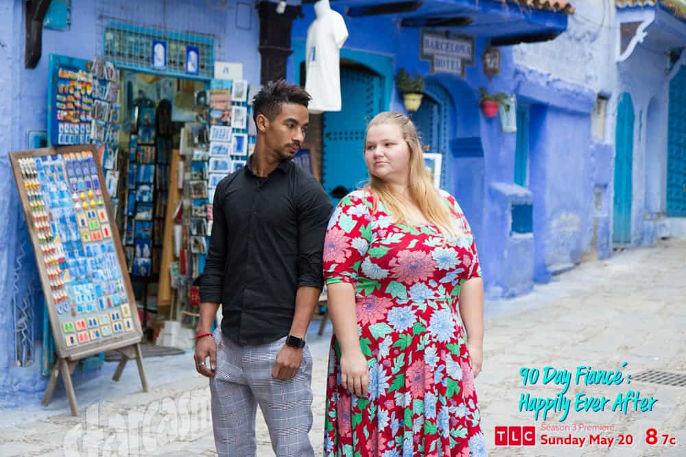 90 Day Fiance Happily Ever After Azan and Nicole back in Morocco together 2018