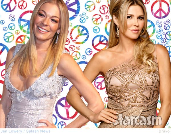 Brandi Glanville LeAnn Rimes make peace for son Jake's birthday, is the feud over?