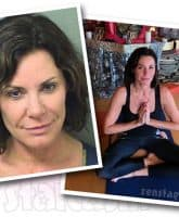 Countess Luann de Lesseps arrest yoga