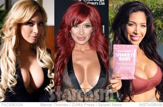 Farrah Abraham blonde red hair brunette
