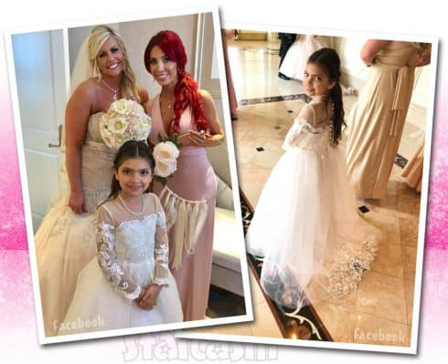 Farrah Abraham wedding Sophia photos