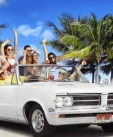 Jersey Shore Family Vacation cast car