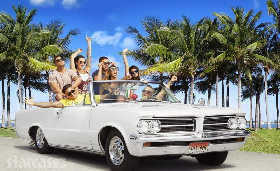 Jersey Shore Family Vacation cast car