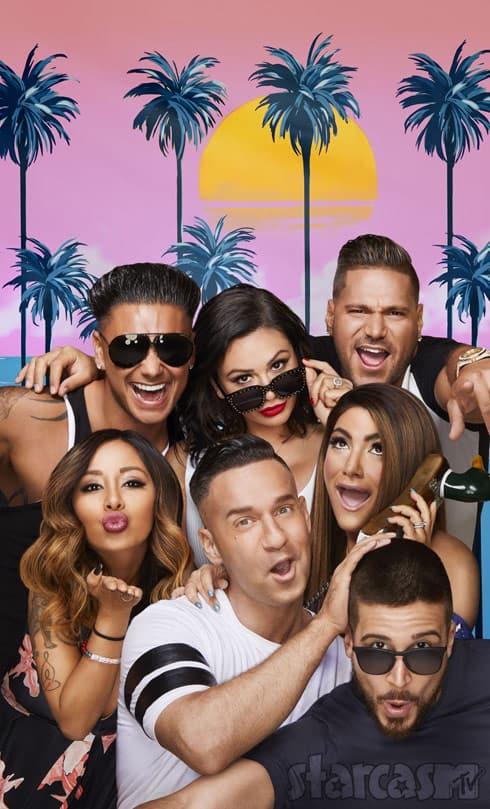 Jersey Shore Family Vacation cast photo