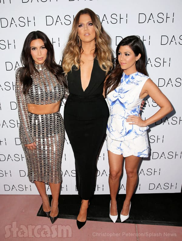 Kardashian sisters DASH store