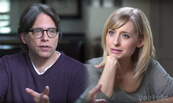 Keith Raniere and Allison Mack together Nxivm