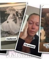 Kendra Wilkinson divorce announcement crying
