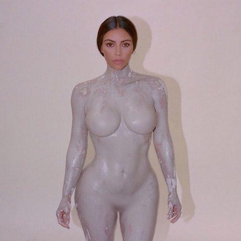 Kim Kardashian nude again