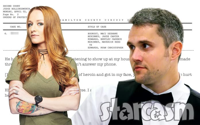 Maci Bookout McKinney Ryan Edwards protective order