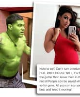 Jersey Shore Ronnie Magro Incredible Hulk Jen Harley feud