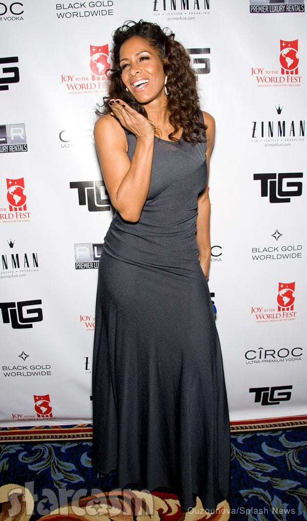 Sheree Whitfield at Joy To The_World Fest Tyrone Gilliams