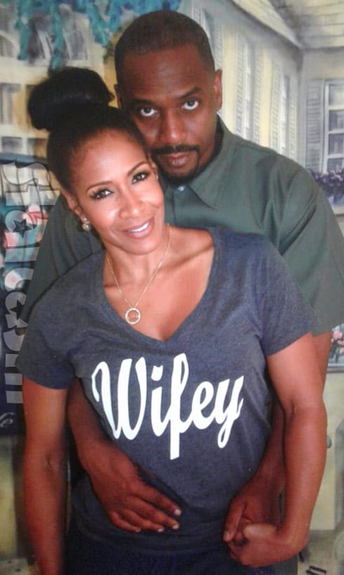 Sheree Whitfield Tyrone Gilliams together
