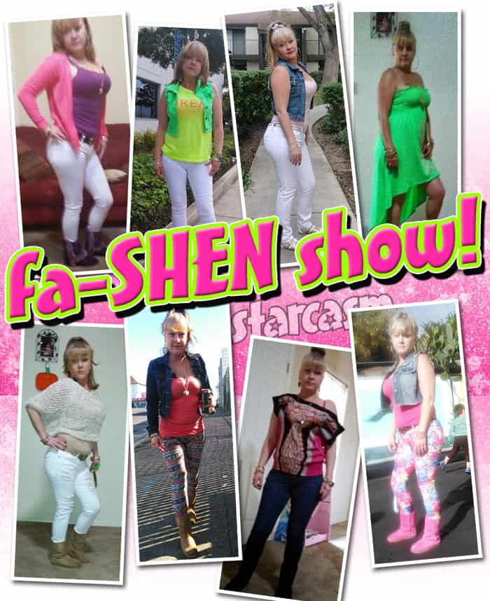 Teen Mom Shen fashion show photos