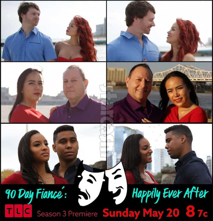 90 Day Fiance Happily Ever After Season 3 cast photos