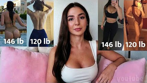 90 Day FIance Anfisa Nava weight loss video