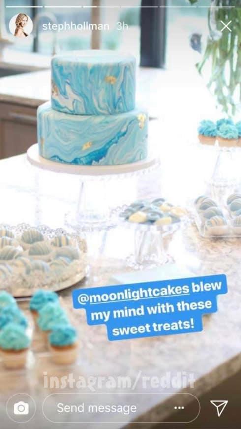 RHOD Brandi Redmond baby shower photo