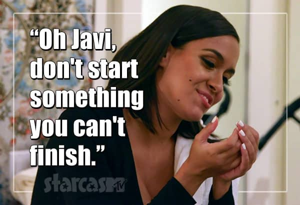 Briana DeJesus Javi quote Teen Mom 2