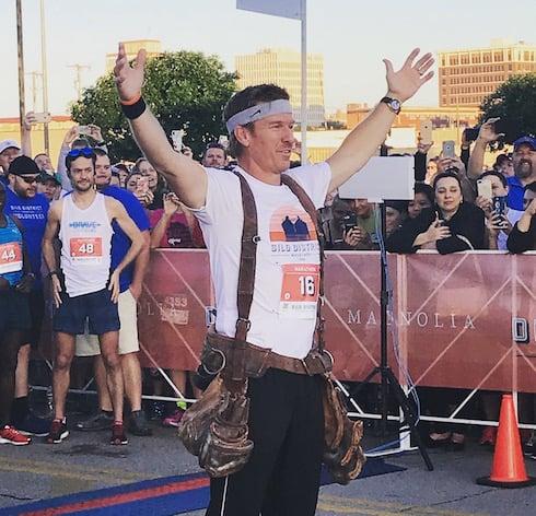 Chip Gaines marathon results 2