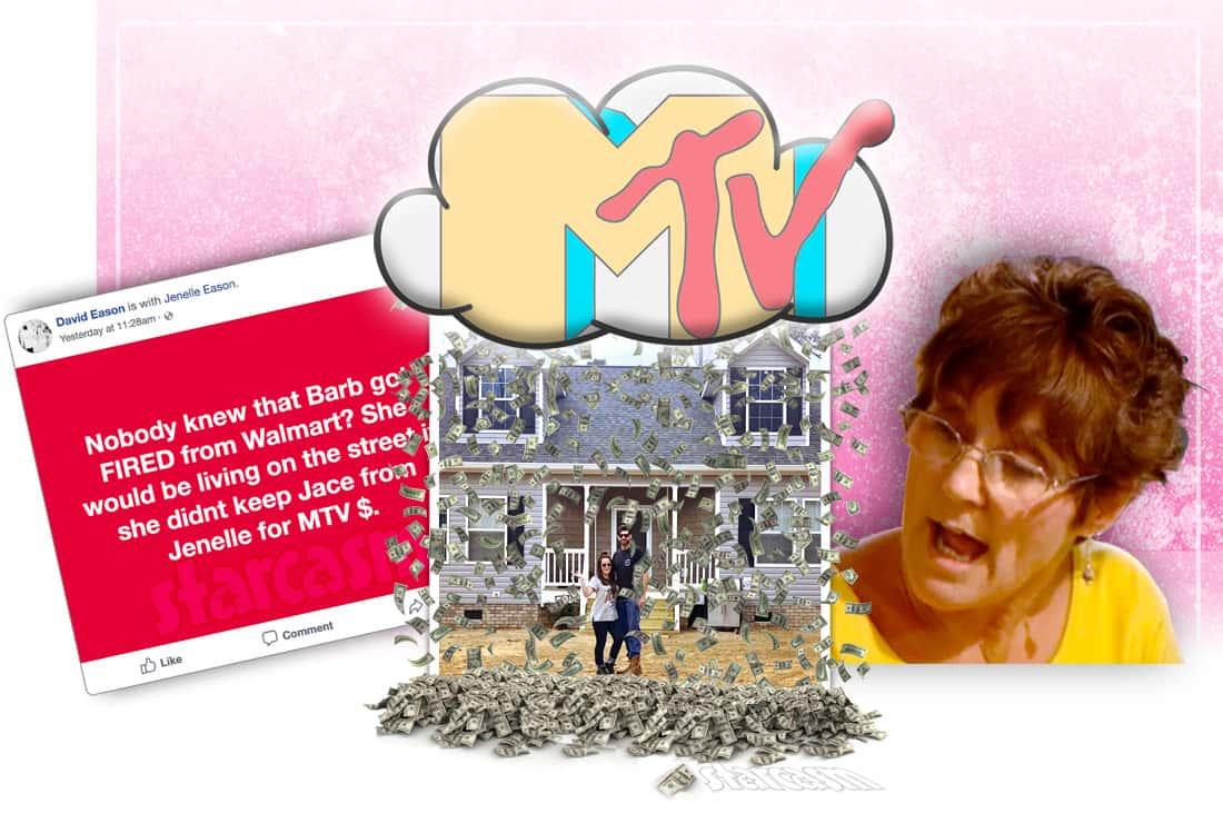 David Eason Barbara Evans MTV money post