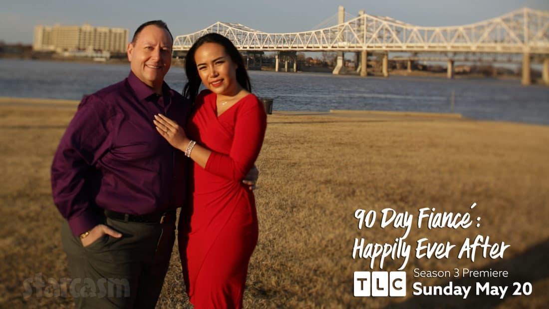 David Toborowsky and wife Annie from 90 Day Fiance