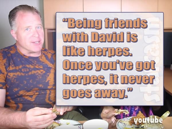David Toborowsky friend Chris Thieneman herpes quote