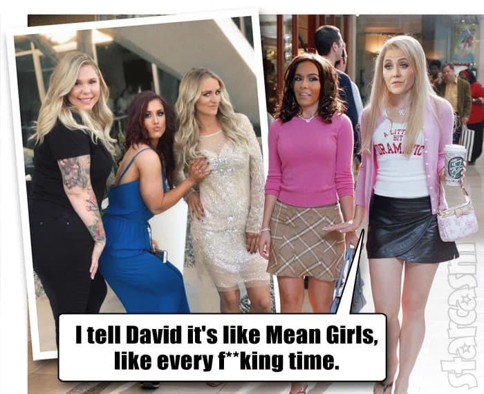 Jenelle Eason Briana DeJesus Mean Girls quote meme Teen Mom 2 Reunion