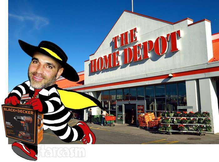 Joe Gorga Home Depot shoplifting