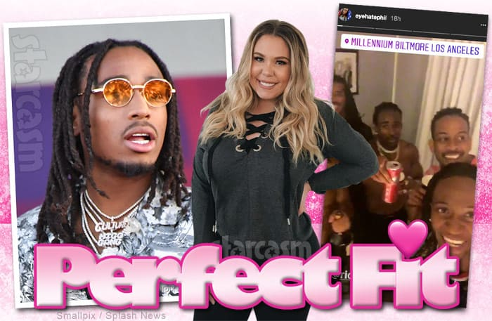 Kail Lowry dating show Perfect Fit Quavo