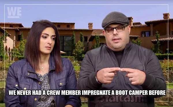 Marriage Boot Camp producers Amber Andrew hookup