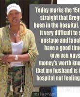 NeNe Leakes Gregg Leakes hospital
